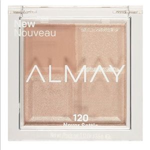 Almay eyeshadow quad never settle